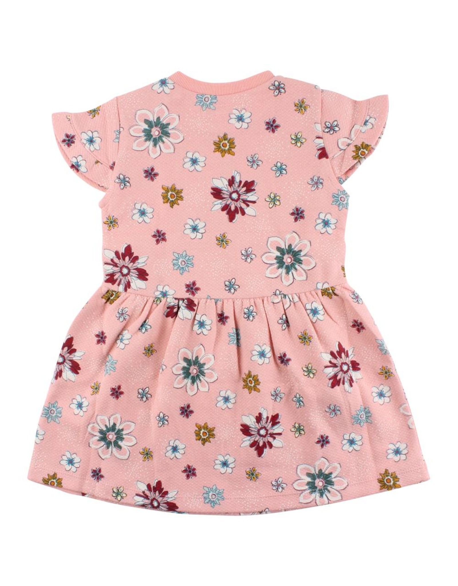 Small Rags Small Rags Dress Flowers Coral Cloud