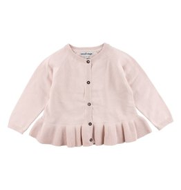 Small Rags Small Rags Knit Cardigan Pearl Blush
