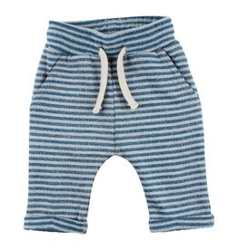 Small Rags Small Rags Pants Stripe Mallard Blue