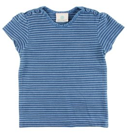 Enfant EN FANT Ink Short Sleeve T-shirt Indigo Blue
