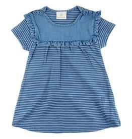 Enfant EN FANT Ink Dress Indigo Blue