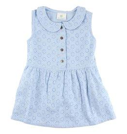 Enfant EN FANT Ink Short Sleeve Dress Skyway