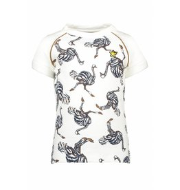 Like Flo Like Flo Girls All over Ostrich Top