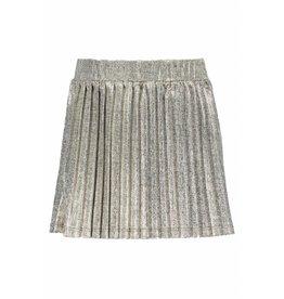 Like Flo Like Flo Girls Metallic Plisse Skirt