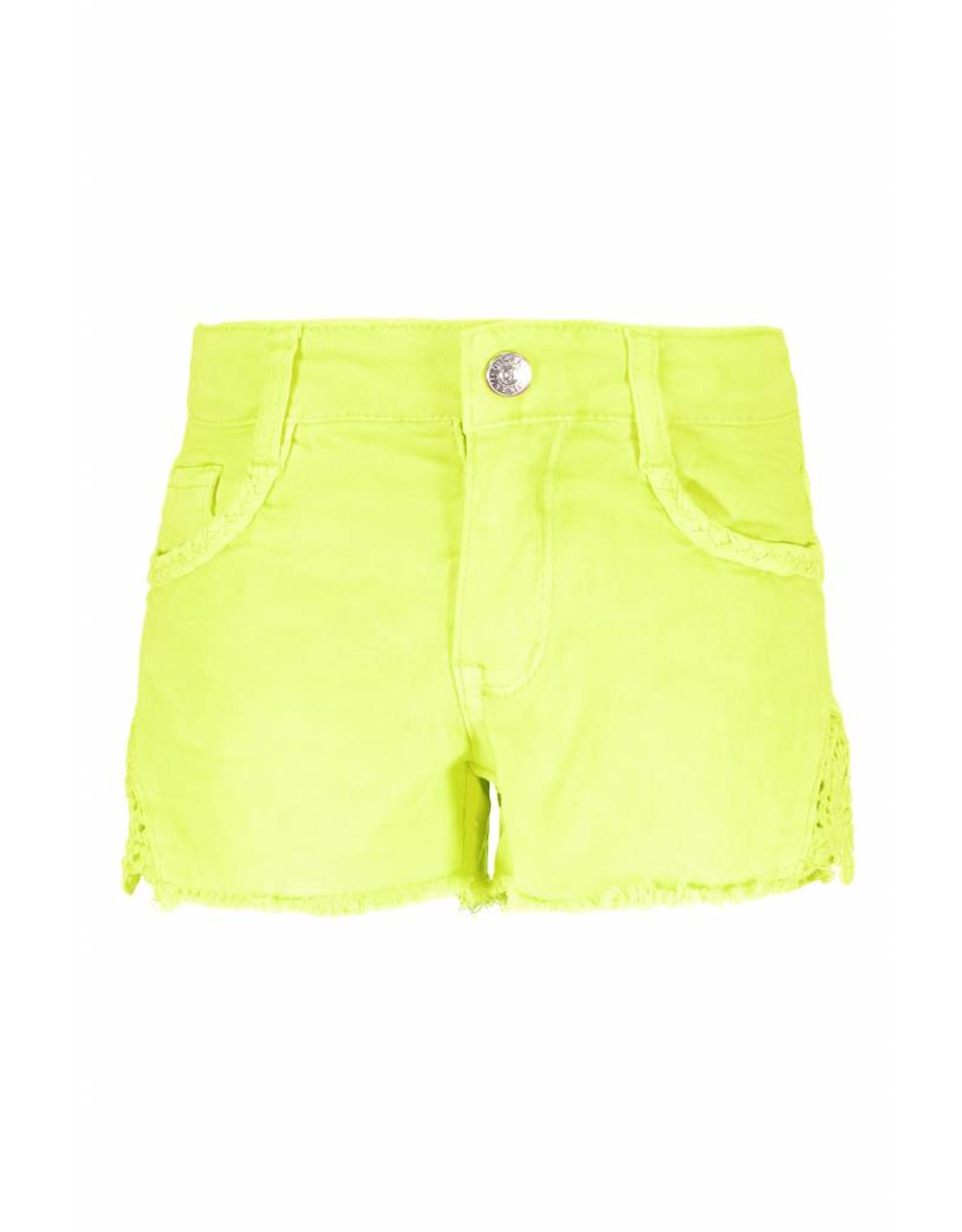 B.Nosy B.Nosy Girls Short With Lace- Electric Yellow
