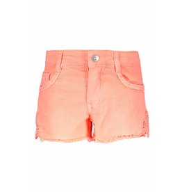 B.Nosy B.Nosy Girls Short Pants with Lace-Bright Salmon