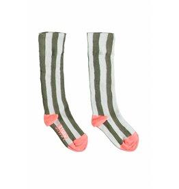 B.Nosy B.Nosy Girls Socks Stripe-Fern Green