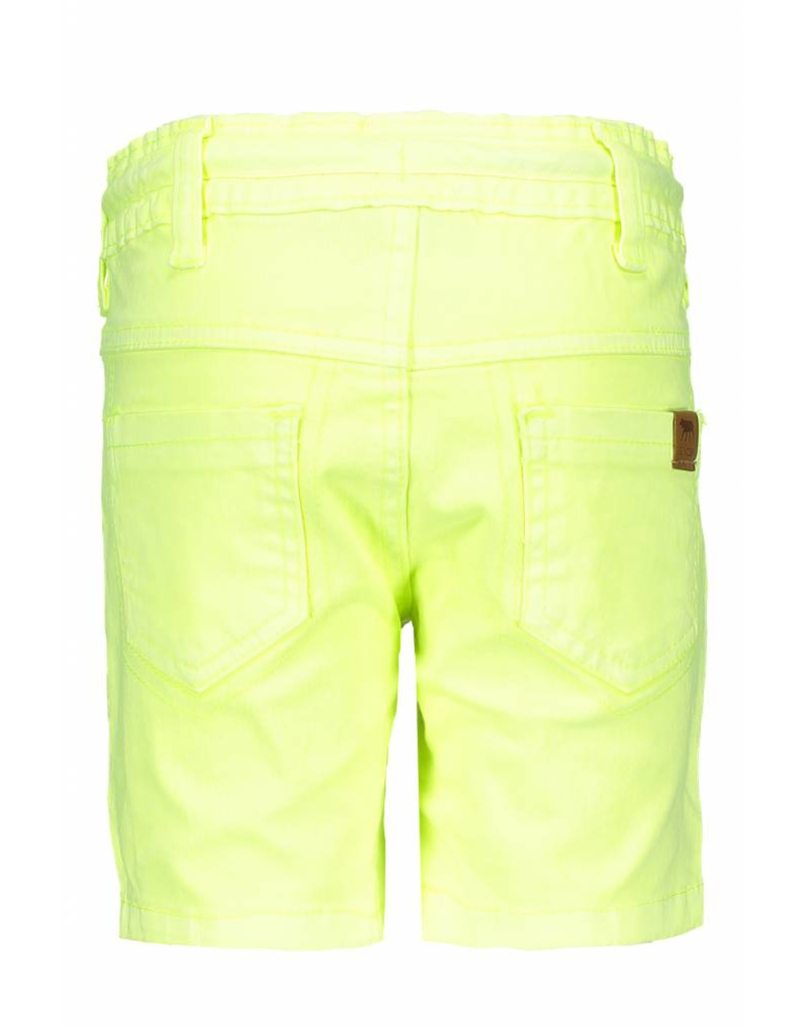 B.Nosy B.Nosy Boys Garment Dye Short-Neon Yellow