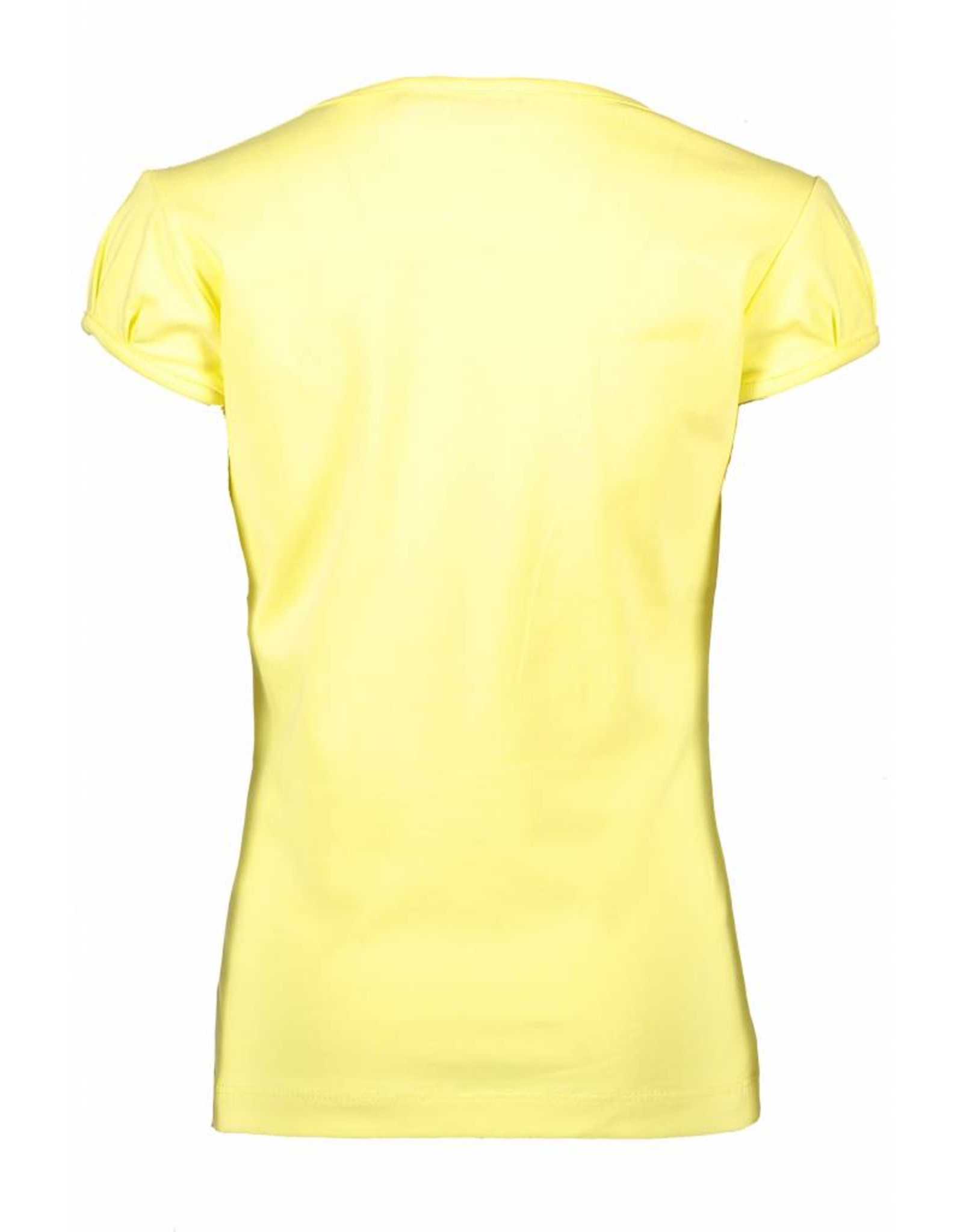 NONO NONO Kamsi T-shirt capsleeve SMILE Light Lemon