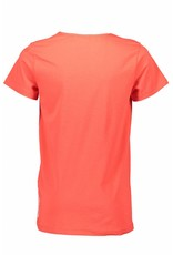 Bellaire Bellaire Karst short sleeve T-shirt white front yoke Bright Red