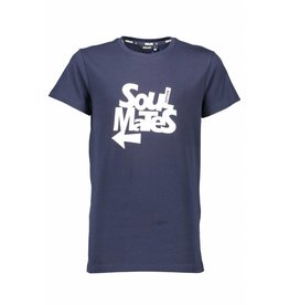Bellaire Bellaire Kees short sleeve Soul Mates T-shirt Navy Blazer