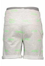 Bellaire Bellaire SvenC Sweat Shorts all over print logo Apple Green