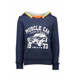 TYGO & Vito TYGO & Vito Hoodie Muscle Car-Navy