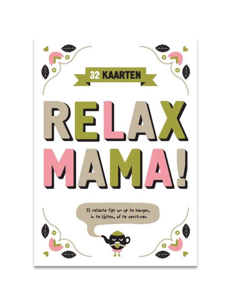 Snor Relax Mama Postkaarten