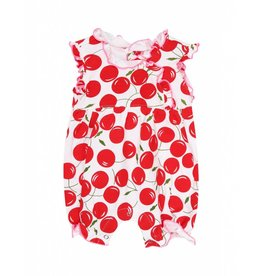 Claesen's Claesen's Baby Girls Suit Cherries
