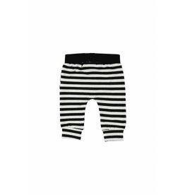 Little Bampidano LB-New Born Trousers Y/D Stripe- Black-White Stripe