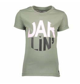 Moodsteet Darlin Moodstreet Darlin T-shirt Chest Artwork Army
