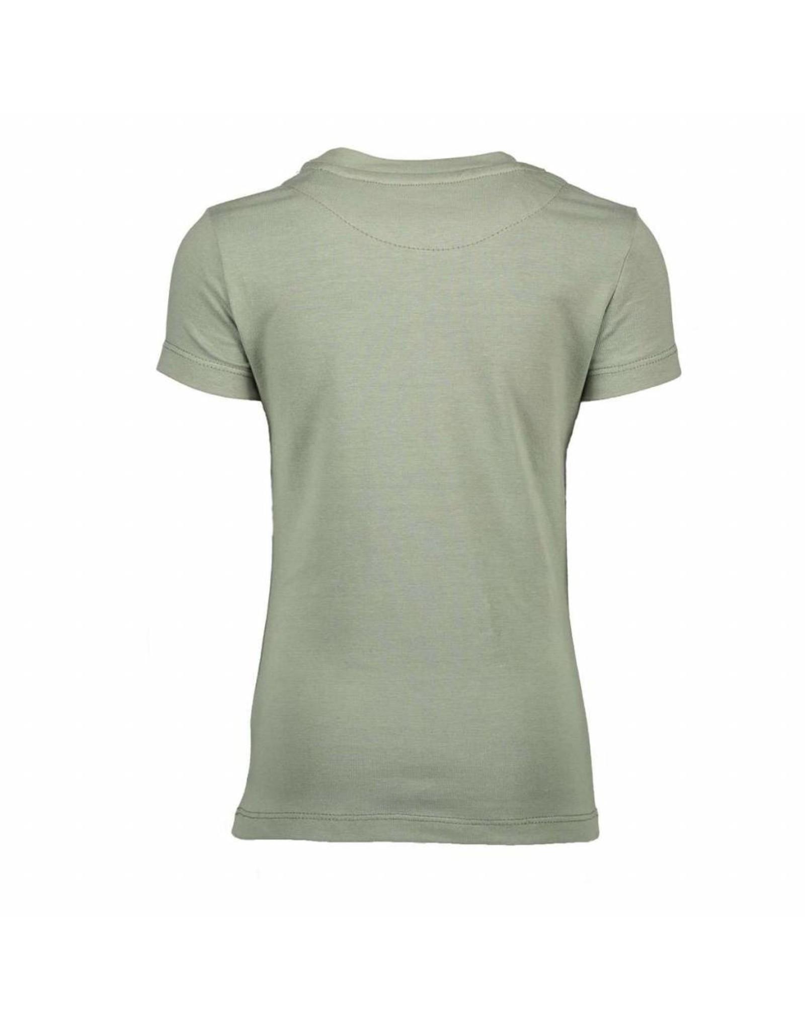 Moodsteet Darlin Moodstreet Darlin T-shirt Chest Artwork Army