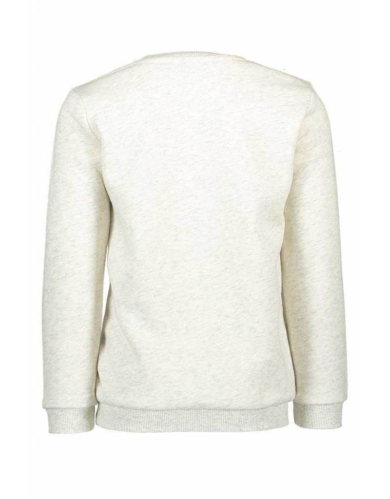 Like Flo Like Flo Boys Sweater Ecru melee