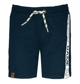 B.Nosy B.Nosy Boy Short Pants With Print On Side-Midnight Blue