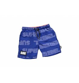 Super Rebel Super Rebel Boys swim short AO text yves klei