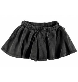 Super Rebel Super Rebel Girls denim look short culottes black