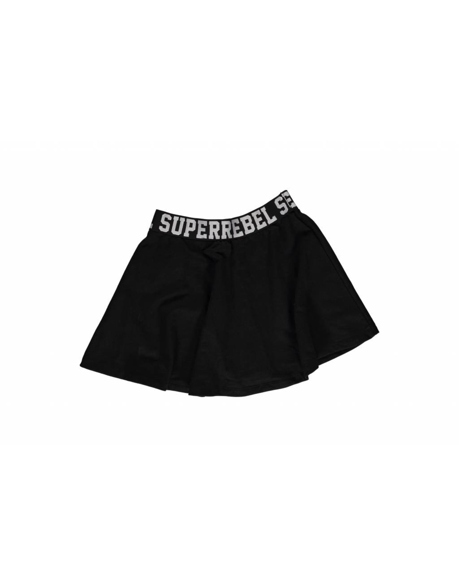 Super Rebel Super Rebel Girls sweat skirt black