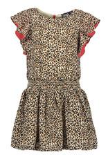 Like Flo Like Flo Girls Animal Dress fancy Ruffle Animal