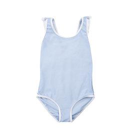 Creamie Creamie Swimsuit ruffle UPF 50+  xenon blue