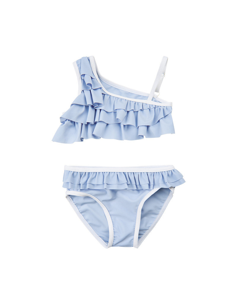 Creamie Creamie Bikini one shoulder UPF 50+ xenon blue