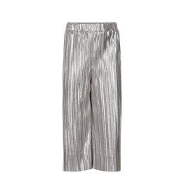 Creamie Creamie Culotte metallic jersey plisse silver