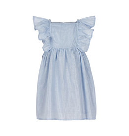 Creamie Creamie Dress silver stripe xenon blue