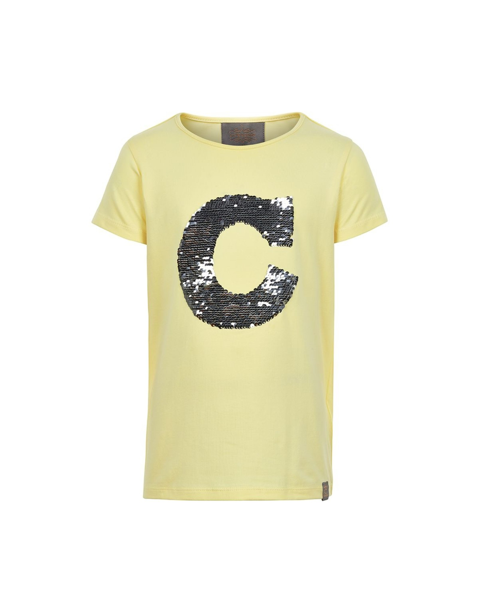 Creamie Creamie T-shirt sequins SS french vanilla