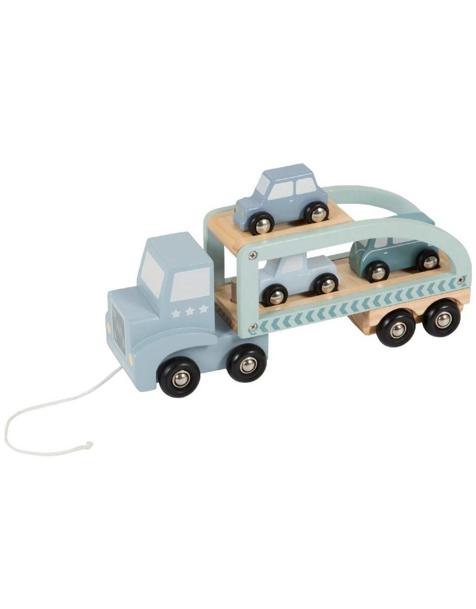 Little Dutch Truck Hout-Mint