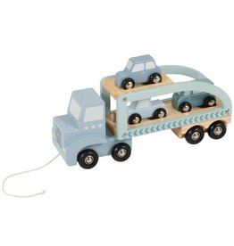 Little Dutch Truck Hout-Mint