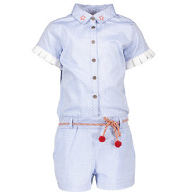 NONO NONO Sarah Chambray Jumpsuit Light Blue