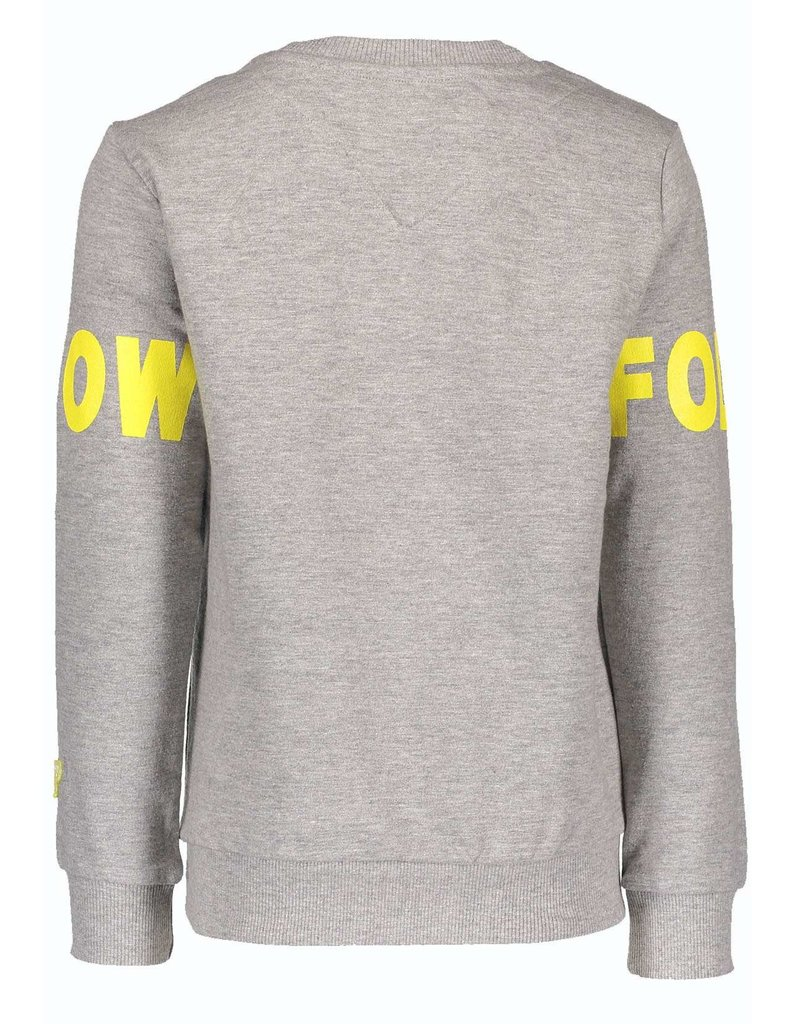 Moodstreet Fellow Moodstreet Fellow Sweater Follow this Fellow Grey Melee
