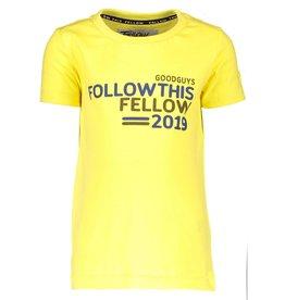 Moodstreet Fellow Moodstreet Fellow T-shirt  Washed Yellow (OUTLET)