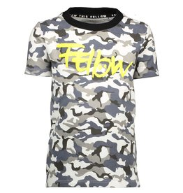 Moodstreet Fellow Moodstreet Fellow T-shirt Camo Black (OUTLET)