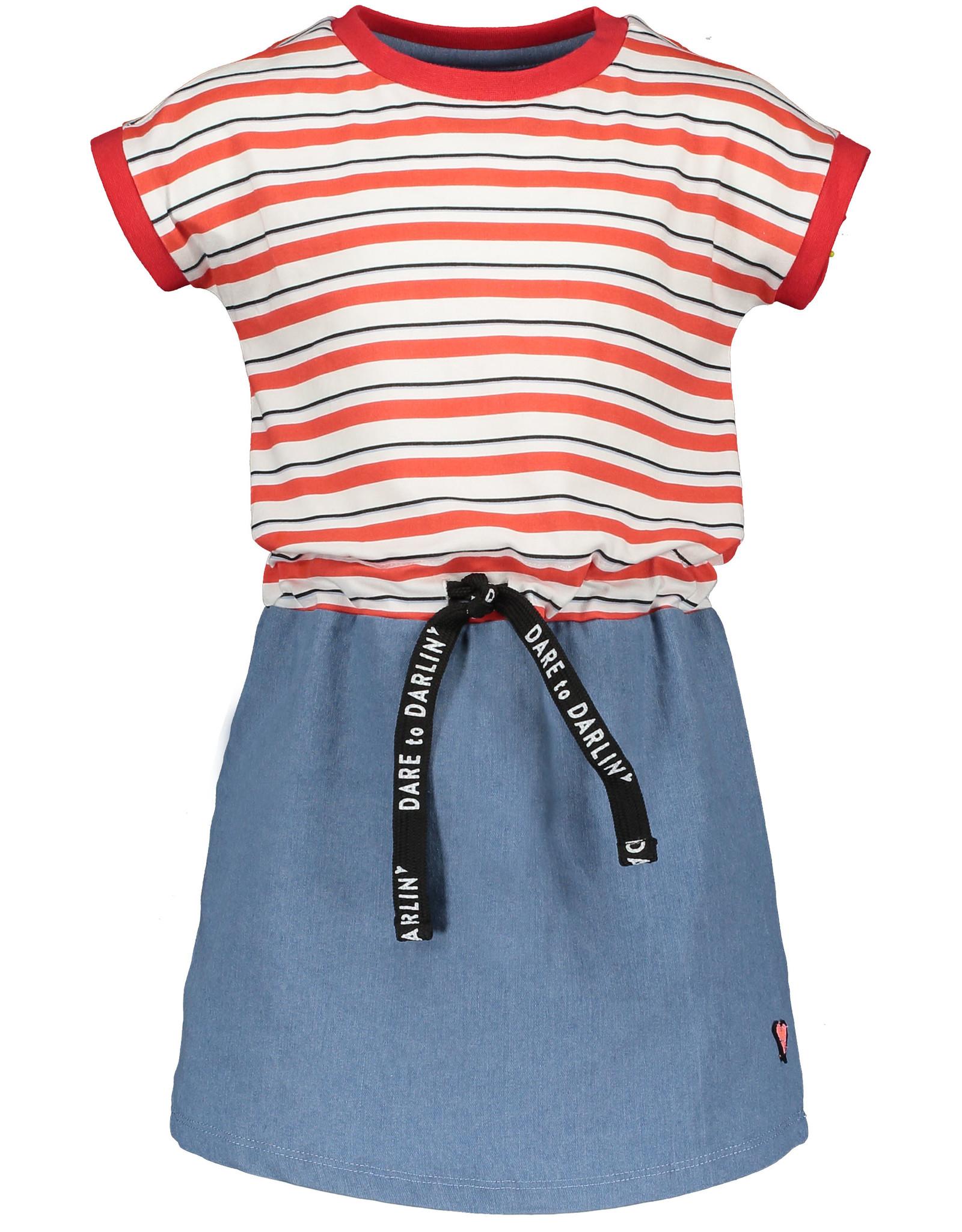 Moodsteet Darlin Moodstreet Darlin Dress contrast Skirt Soft Red