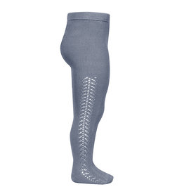 Condor Condor Side Openwork warm Tights Steel