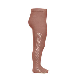 Condor Condor Side Openwork warm Tights Terracota