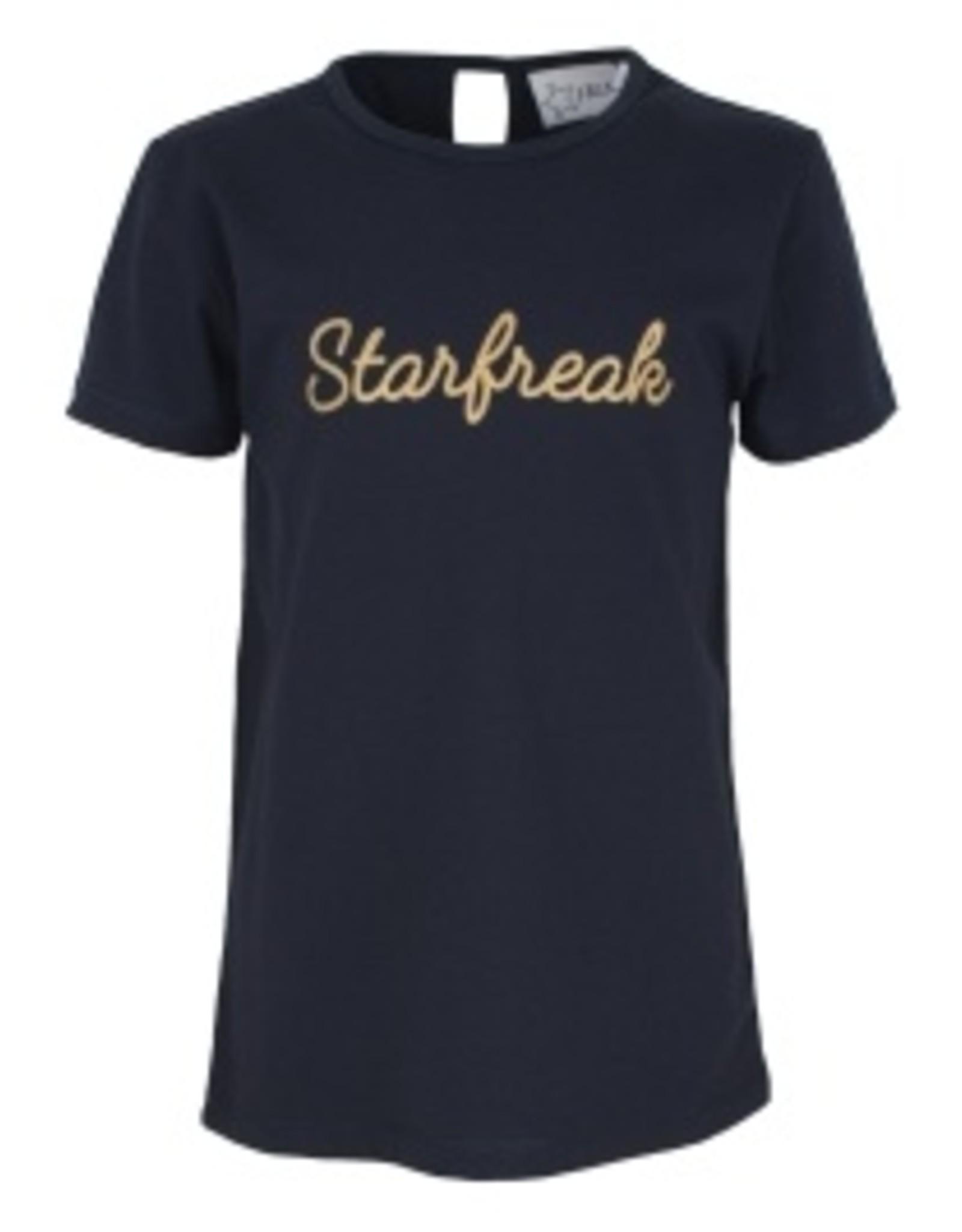 Starfreak Starfreak T-shirt Jersey Co/Elastan Solid Blue