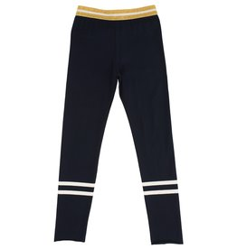 Starfreak Starfreak Legging with two Stripes Jersey Co/El Blue