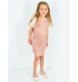 Starfreak Starfreak Dress Plisse Gold