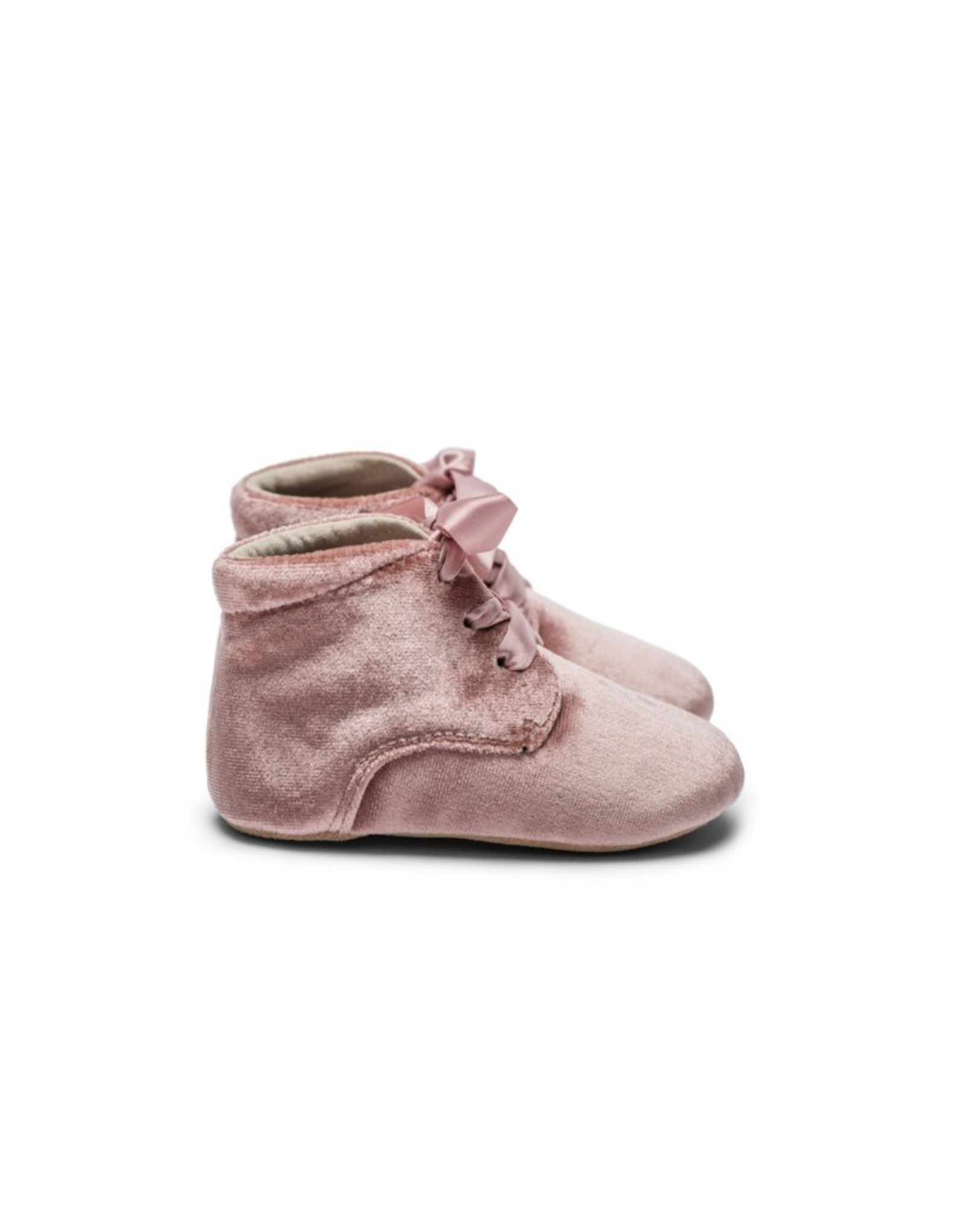 Mockies Mockies Classic Boots Velvet Pink - Limited Edition