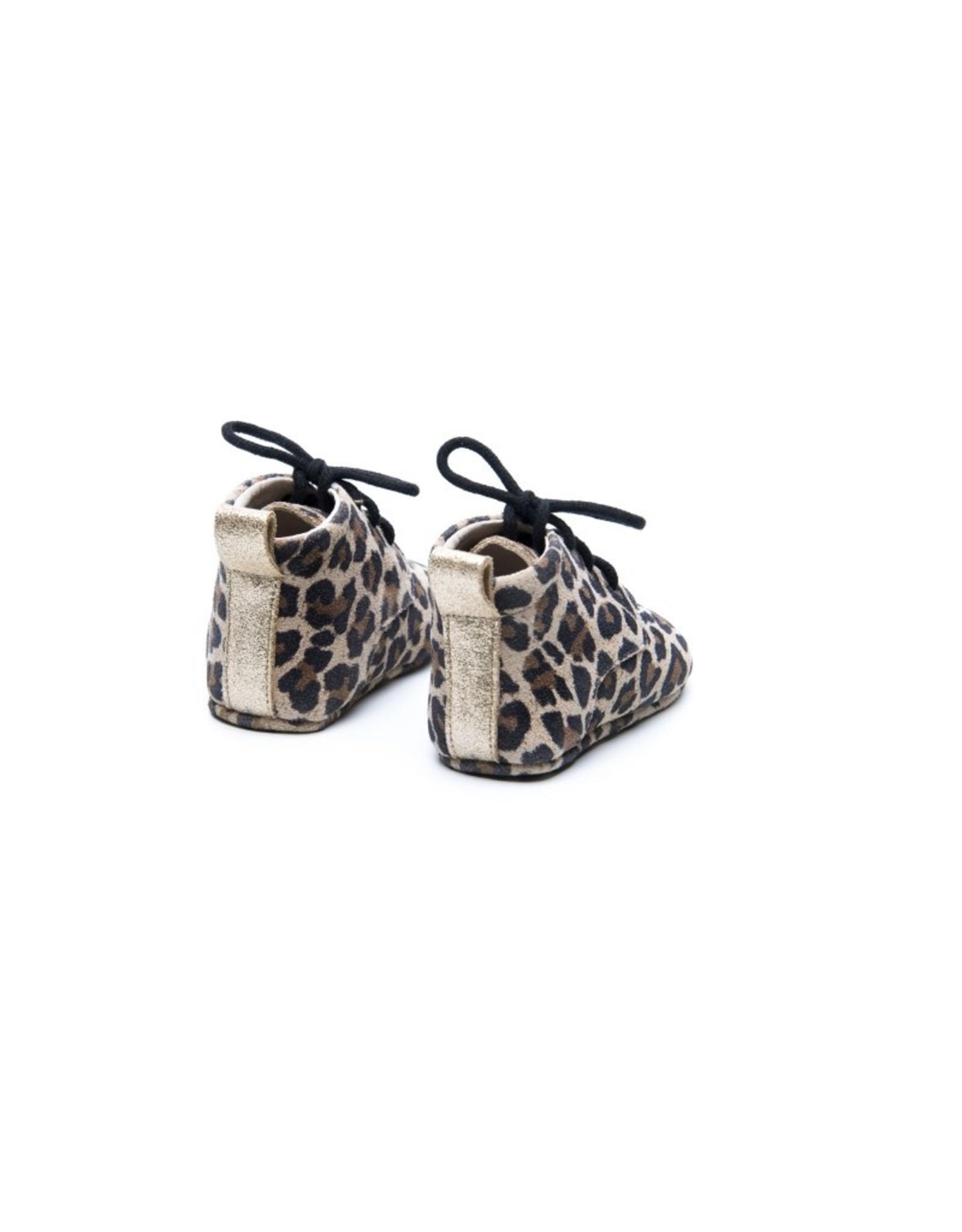 Mockies Mockies Classic Boots Leopard Gold
