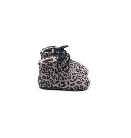 Mockies Mockies Classic Boots Leopard Grey