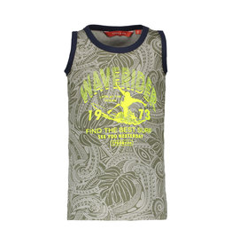 "TYGO & Vito TYGO & Vito all over print Tanktop ""Waverider"" Army"