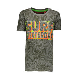 "TYGO & Vito TYGO & Vito all over print T-shirt ""Surf Nexterday"" Army"